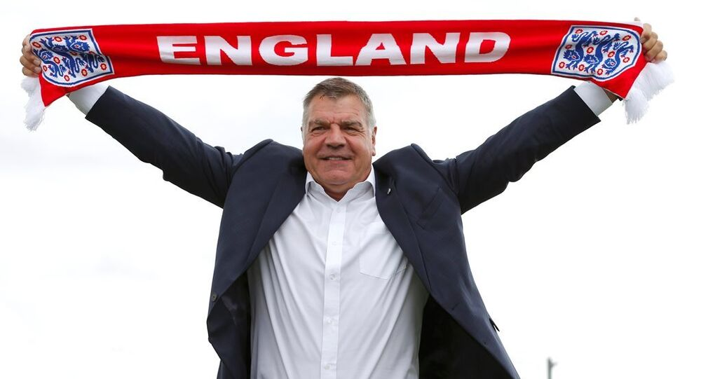 İngiltere Milli Takım menajeri Sam Allardyce