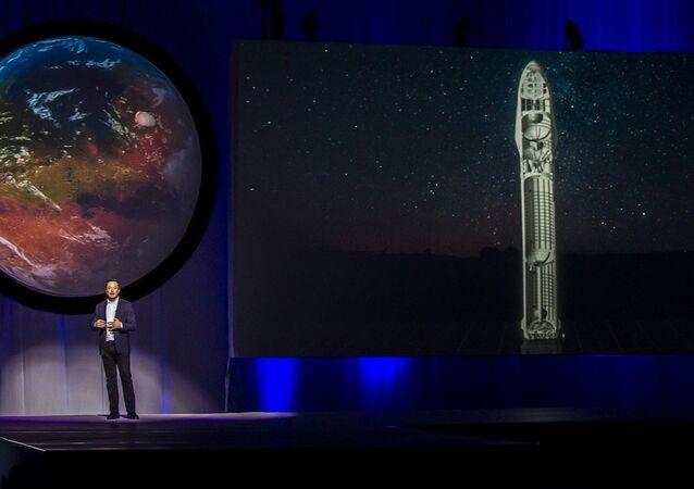 Space X CEO'su Elon Musk