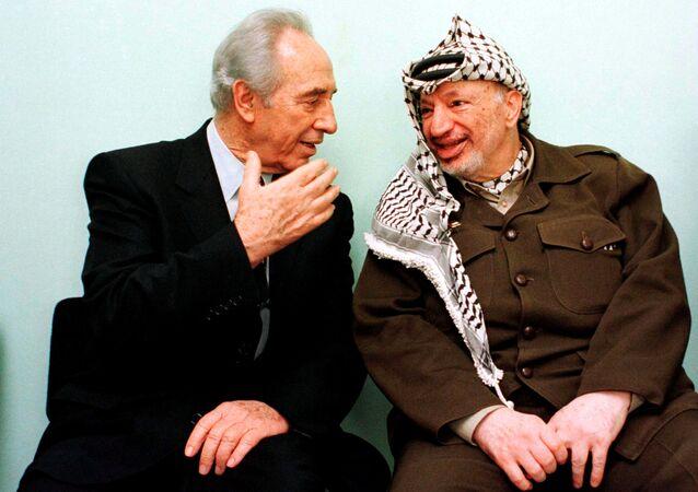 Şimon Peres - Yaser Arafat
