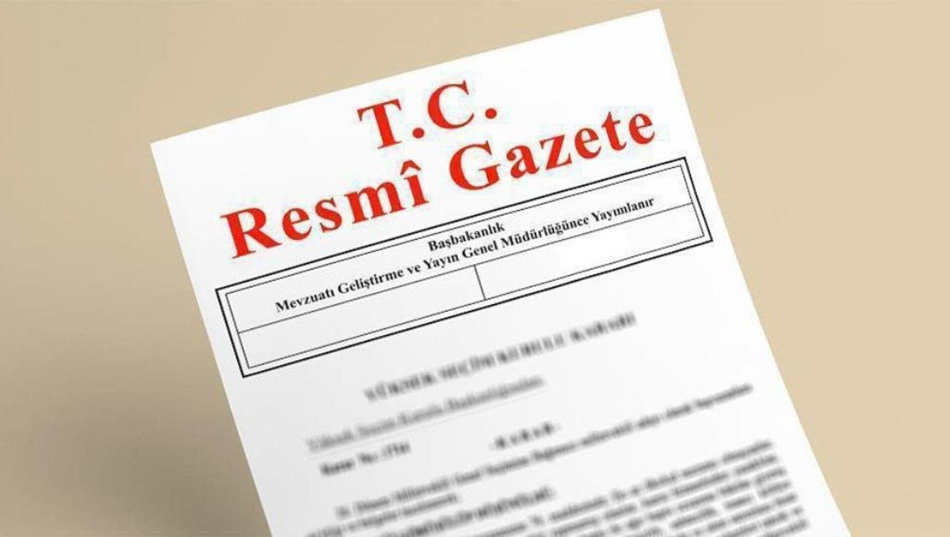 Resmi Gazete - Sputnik Türkiye, 1920, 25.04.2021