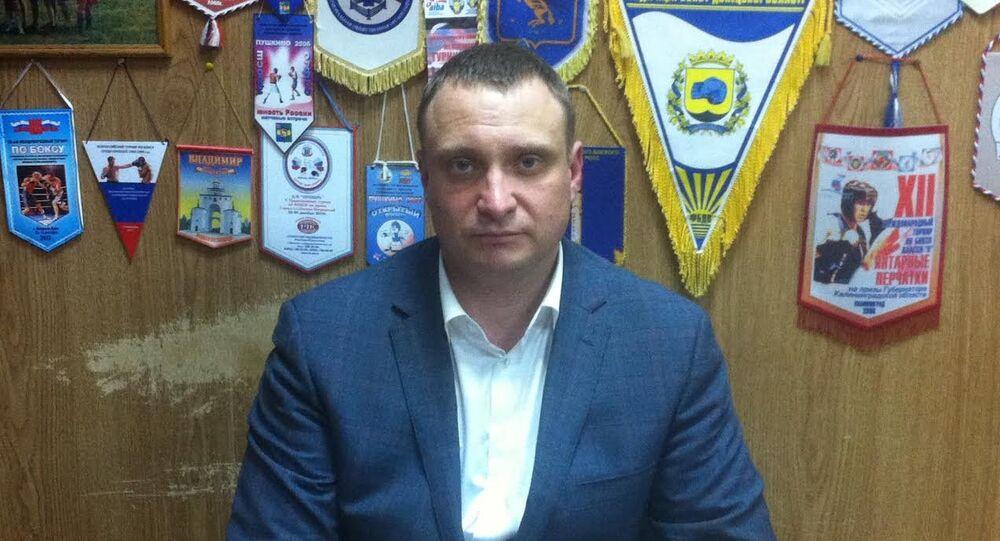 Rusya'nın Moskova bölgesinin Boks Federasyonu Başkan Yardımcısı Maksim Dubrovski