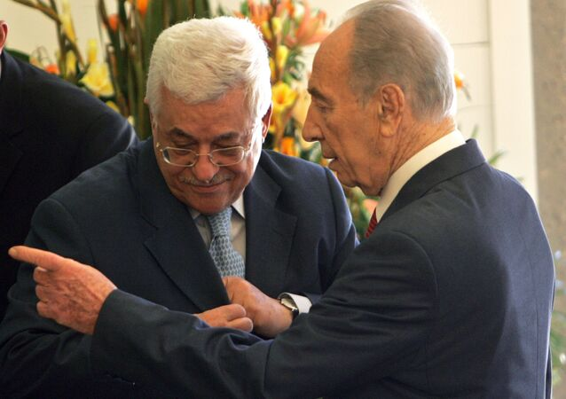 Mahmud Abbas - Şimon Peres