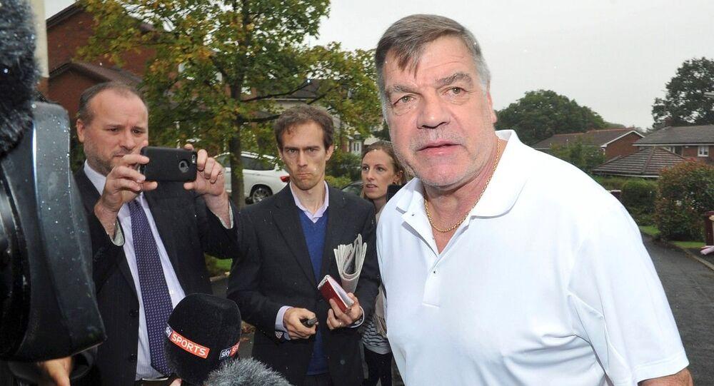 İngiltere Milli Takımı'nın eski teknik direktörü Sam Allardyce