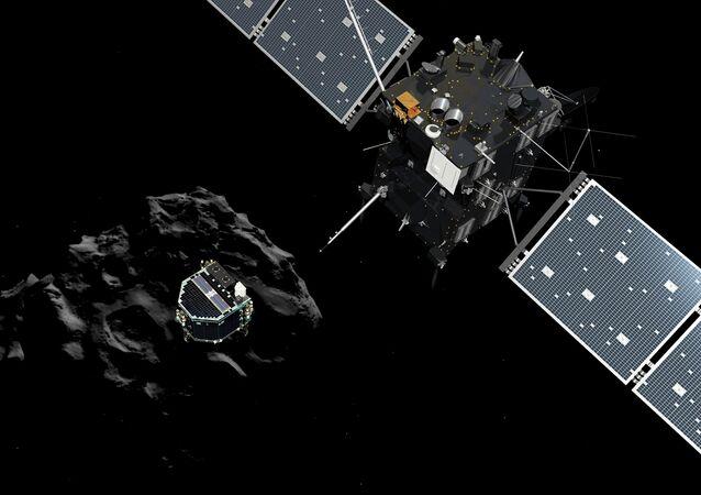 Rosetta uzay aracı ve Philae robotu