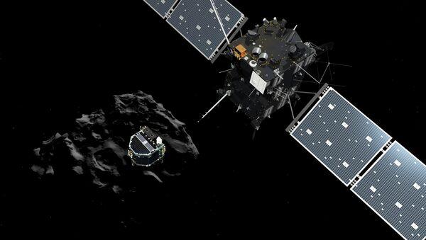 Rosetta uzay aracı ve Philae robotu - Sputnik Türkiye