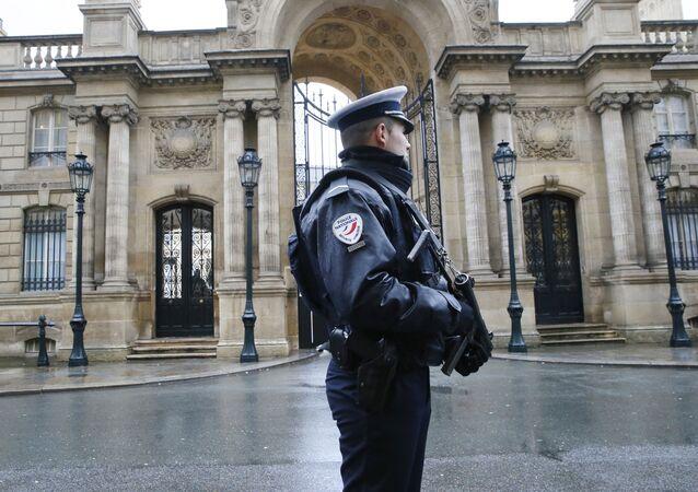 Elysee Sarayı - Polis - Paris