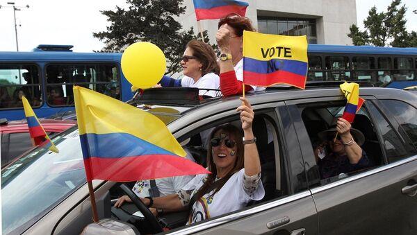 Kolombiya - FARC referandum - Sputnik Türkiye