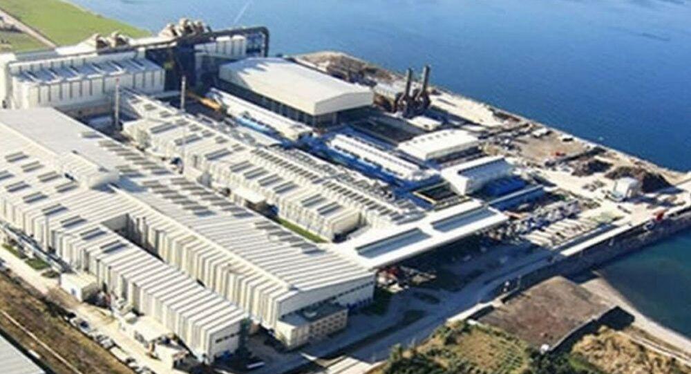 İskenderun MMK Metalurji-Rusya-fabrika
