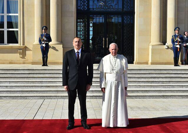 Papa Francis-Haydar Aliyev-Azerbaycan