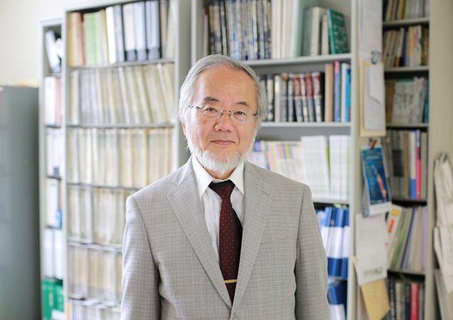 Yoshinori Ohsumi, Nobel Tıp Ödülü'nü kazandı