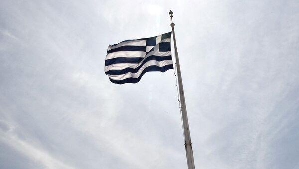 Yunan bayrağı - Sputnik Türkiye