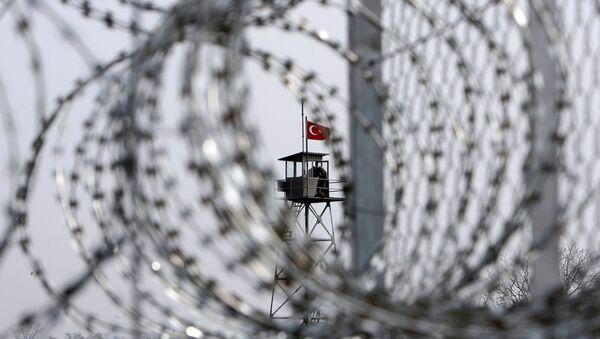 Türkiye - Yunanistan sınırı / Pazarkule Sınır Kapısı - Sputnik Türkiye