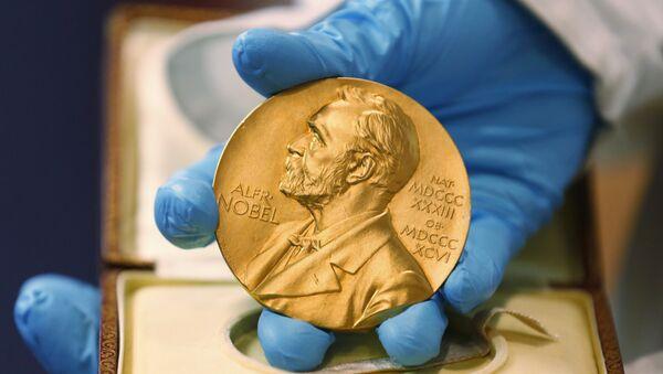 Nobel Prize medal - Sputnik Türkiye