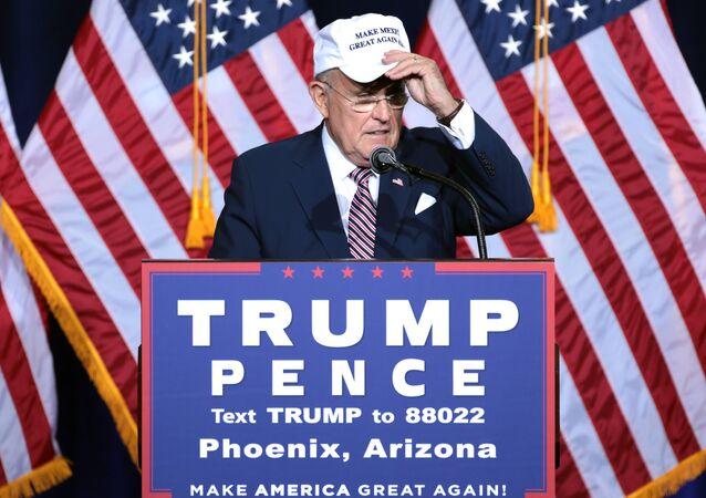 Eski New York Belediye Başkanı Rudy Giuliani