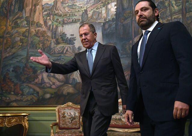 Sergey Lavrov - Saad Hariri
