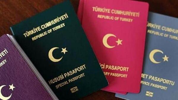 Türkiye-pasaport - Sputnik Türkiye