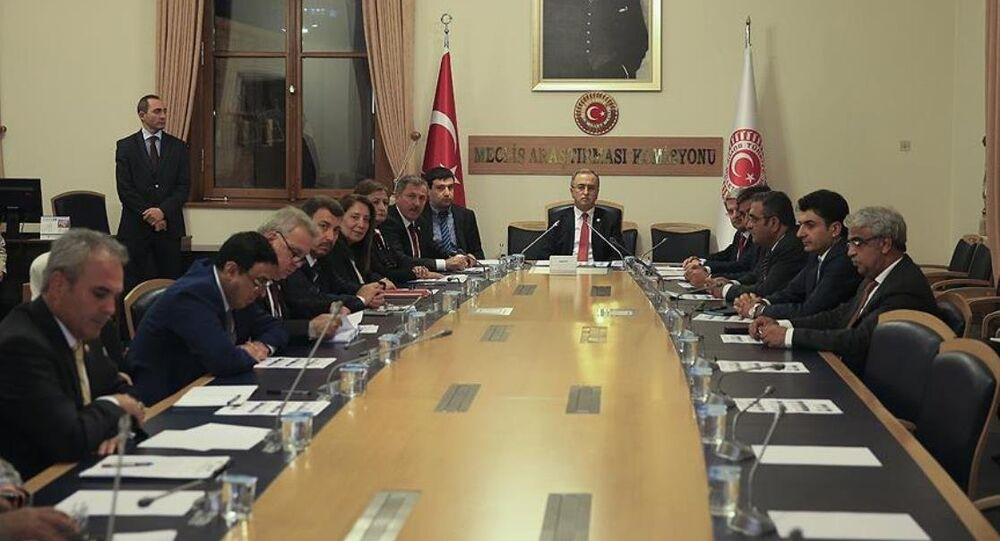 15 Temmuz darbe girişimini araştırmak amacıyla kurulan Meclis Araştırma Komisyonu