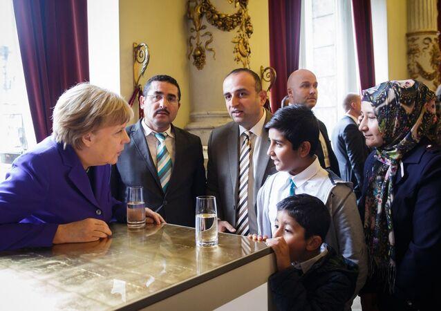 Angela Merkel - Hamza Turan
