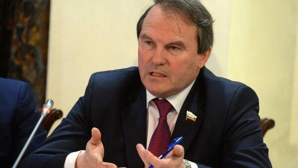 Rusya Federasyon Konseyi Dış İlişkiler Komisyonu üyesi İgor Morozov - Sputnik Türkiye
