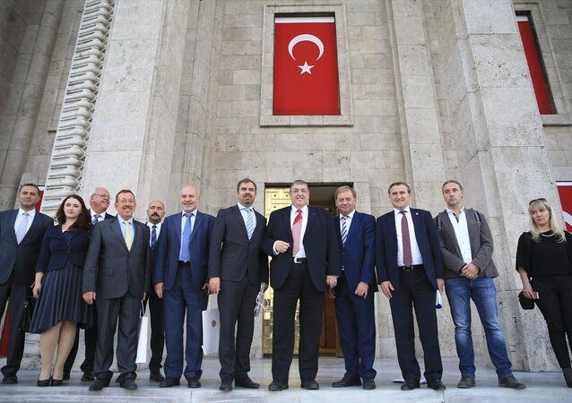 Alman Federal Meclis Savunma Komisyonu üyeleri TBMM'de