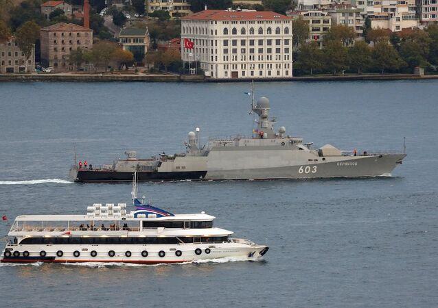 Rus savaş gemisi Zelyonıy Dol