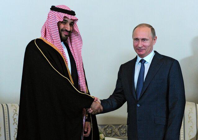 Rusya Devlet Başkanı Vladimir Putin- Suudi Arabistan Savunma Bakanı Prens Muhammed Bin Salman