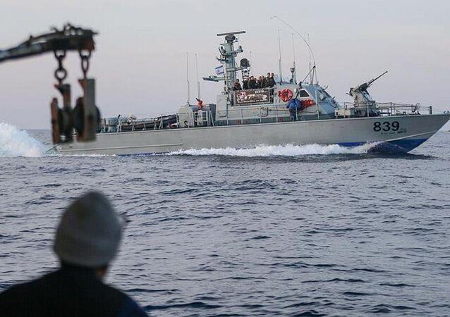 Gazze'ye yardım götüren Zaytouna gemisi