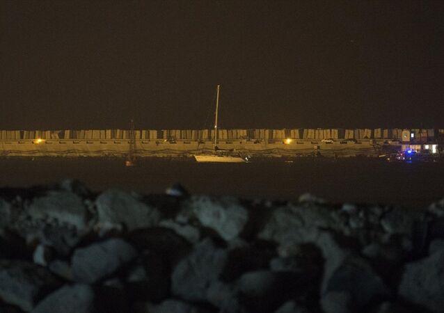 Zaytouna gemisi Aşdot Limanı'na getirildi
