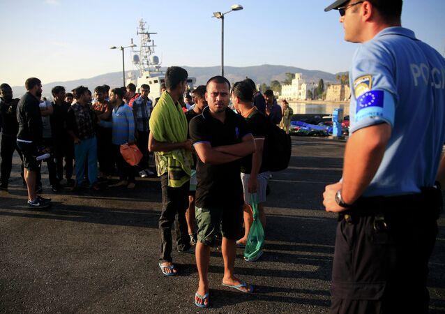 Frontex güvenlik önlemleri