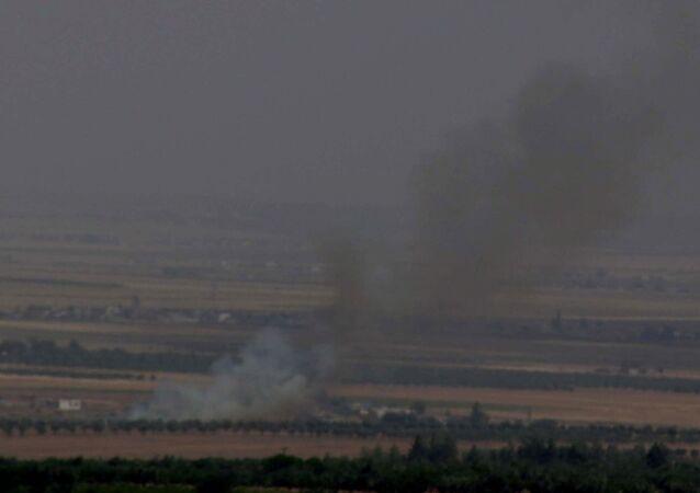 Çobanbey - ÖSO - IŞİD - çatışma