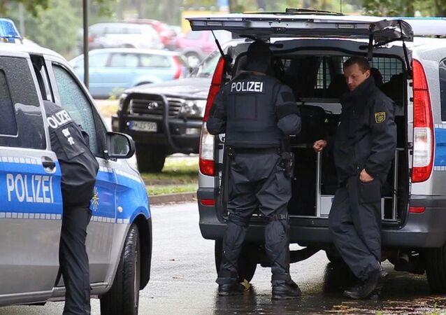 Almanya'nın Chemnitz kentinde terör operasyonu