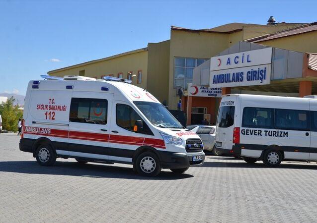 Hakkari - ambulans