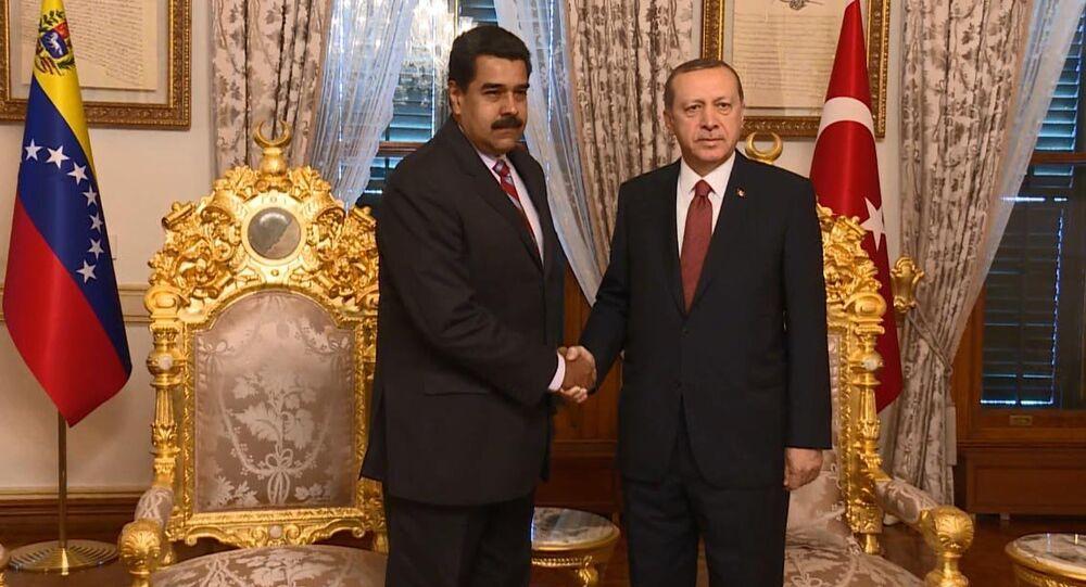 Recep Tayyip Erdoğan - Nicolas Maduro