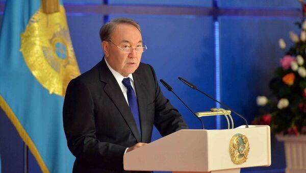 Kazakistan Cumhurbaşkanı Nursultan Nazarbayev - Sputnik Türkiye