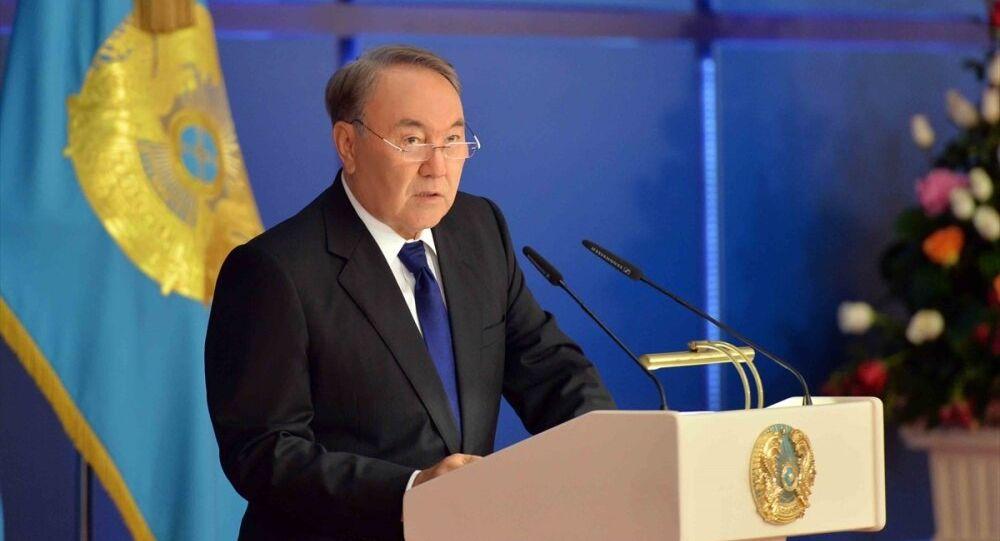 Kazakistan Cumhurbaşkanı Nursultan Nazarbayev