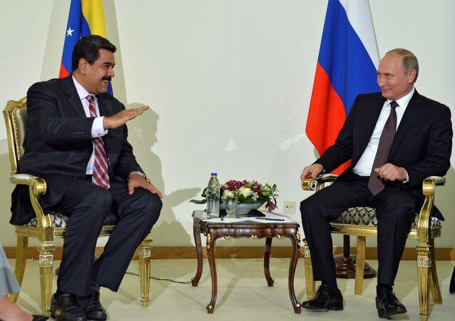 Vladimir Putin - Nicolas Maduro