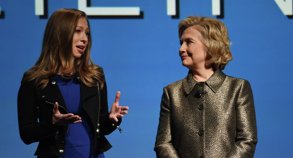 Chelsea and HIllary Clinton