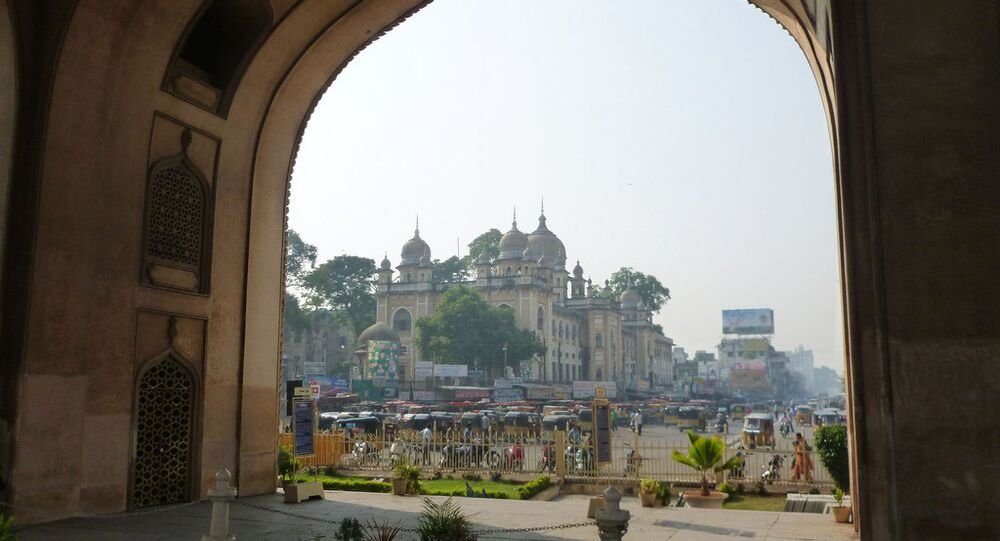 Hindistan'ın Hiderabad kenti