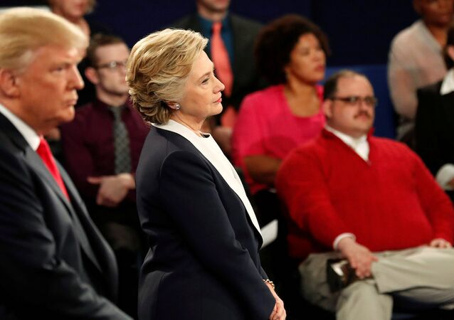 ABD başkan adayları Hillary Clinton ve Donald Trump