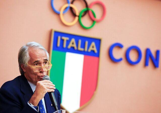 İtalya Milli Olimpiyat Komitesi (CONI) Başkanı Giovanni Malago