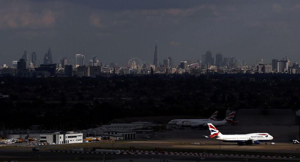 İngiltere/ Londra Heathrow Havalimanı