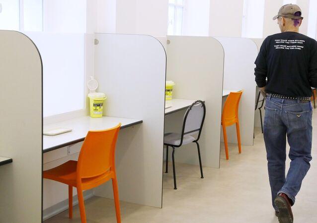 Fransa'nın ilk yasal 'uyusturucu salonu'