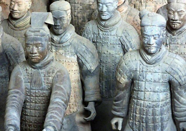 Çin Terra Cotta askerleri-Çin Terra Kota askerleri