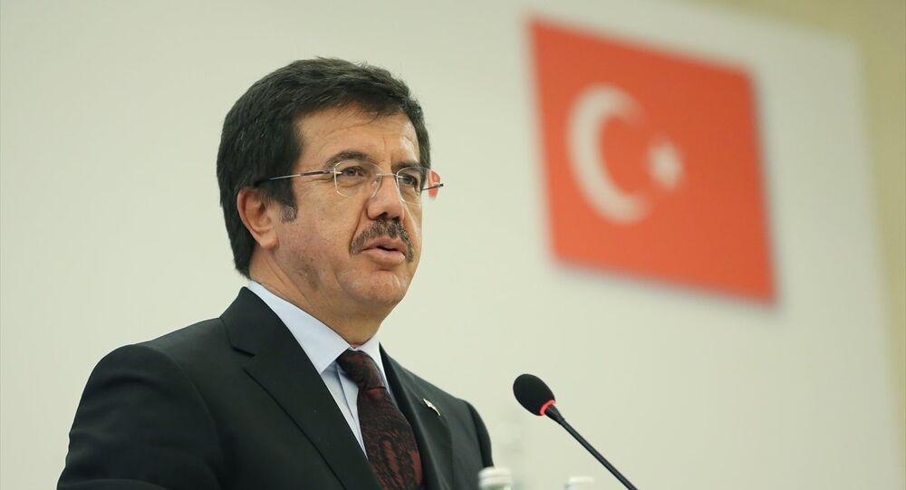 Ekonomi Bakanı Nihat Zeybekci, İstanbul Conrad Otel'de gerçekleştirilen Türkiye-Rusya İş Konseyi 18. Ortak Toplantısı'nda konuşma yaptı.