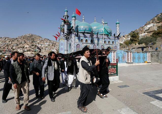 Kabil'deki Şiilerin gittiği Sahi türbesi