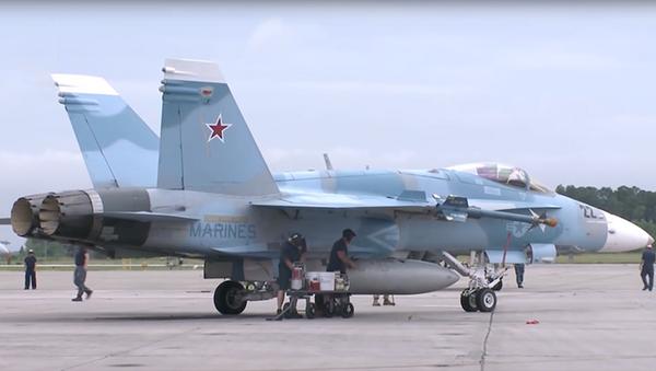 ABD'nin Suriye'deki jetleri - Sputnik Türkiye