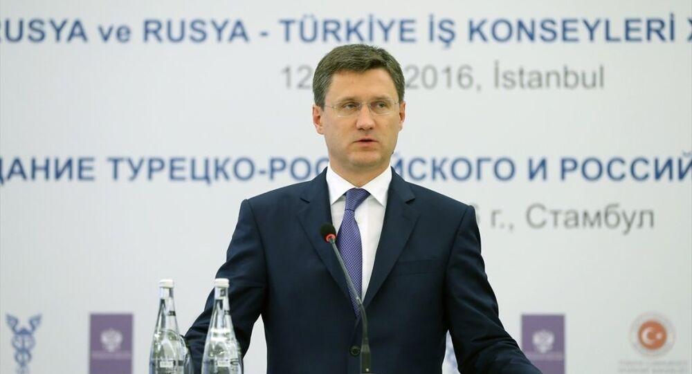 Rusya Enerji Bakanı Aleksandr Novak
