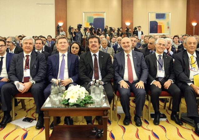 Türkiye-Rusya İş Konseyi 18. Ortak Toplantısı - Nihat Zeybekci - Aleksandr Novak