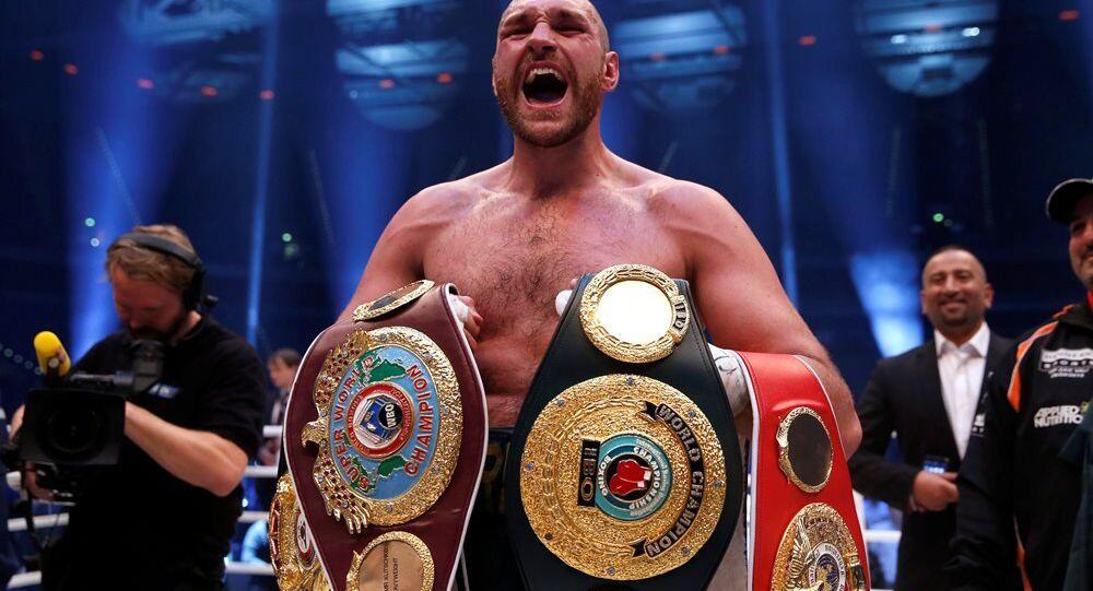 İngiliz boksör Tyson Fury