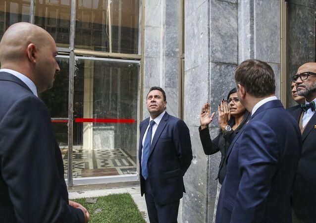 Venezülla Dışişleri Bakan Yardımcısı Samuel Moncada ve beraberindeki heyet, Meclis'i ziyaret etti.